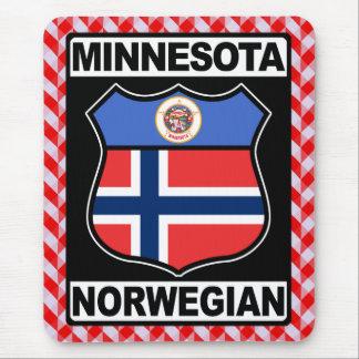 Mousepad Americano norueguês Mousemat do Minnesotan