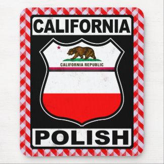 Mousepad Americano polonês Mousemat de Califórnia