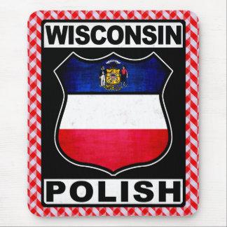Mousepad Americano polonês Mousemat de Wisconsin