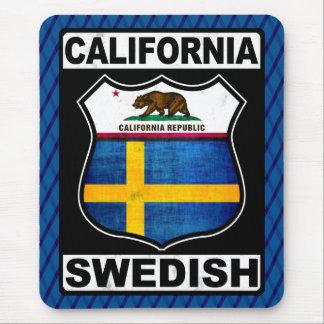 Mousepad Americano sueco Mousemat de Califórnia