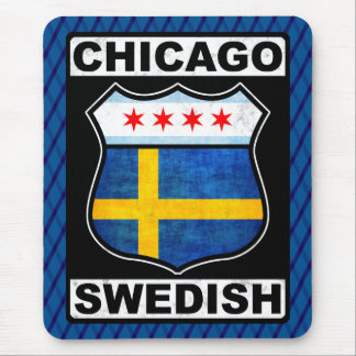 Mousepad Americano sueco Mousemat de Chicago