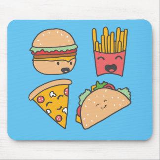 Mousepad amigos do fast food
