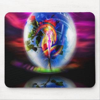 Mousepad Amor cumprimentos por correios aéreos