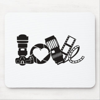 Mousepad Amor da câmera