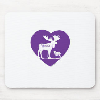 Mousepad Amor do cordeiro dos alces