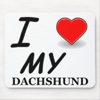 Mousepad amor do dachshund