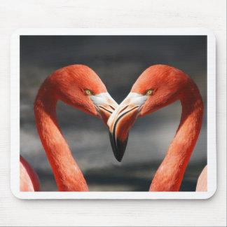 Mousepad Amor do flamingo