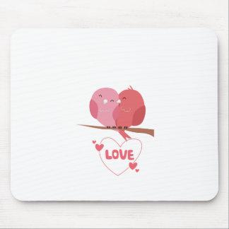 Mousepad Amor do pássaro