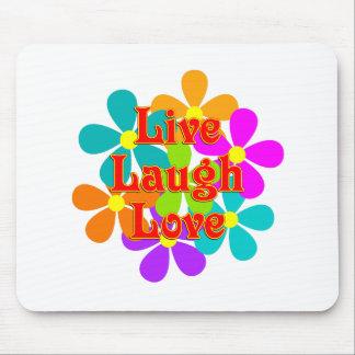 Mousepad Amor vivo do riso do divertimento