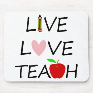 Mousepad amor vivo teach2