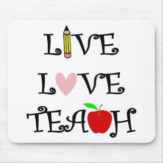 Mousepad amor vivo teach3