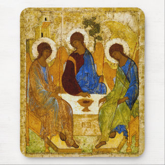 Mousepad Andrei Rublev, icon of the Trinity