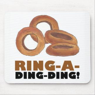 Mousepad Anel-um-Ding-Ding fritou o fast food da sucata dos