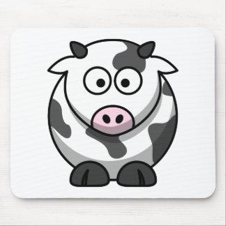 Mousepad Animal bonito engraçado da vaca dos desenhos