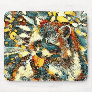 Mousepad AnimalArt_Raccoon_20170601_by_JAMColors