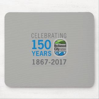 Mousepad Aniversário de Redwood City 150th