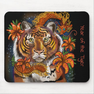 Mousepad Ano chinês do tigre