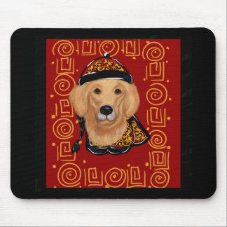 Mousepad Ano do golden retriever do cão