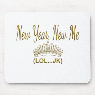 Mousepad Ano novo, novo mim LOL JK