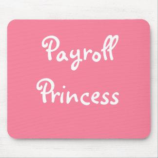 Mousepad Apelido fêmea da folha de pagamento engraçada -