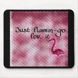 Mousepad Apenas flamingo para ele inspirado