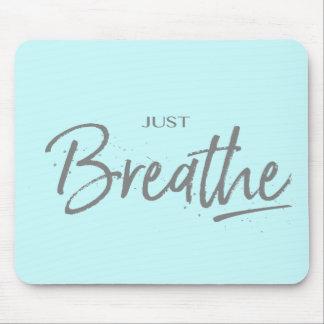 Mousepad Apenas respire, ioga, citações do zen