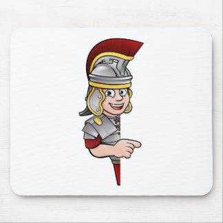 Mousepad Apontar romano do soldado