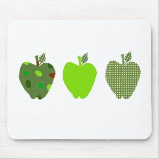 Mousepad Apple verde