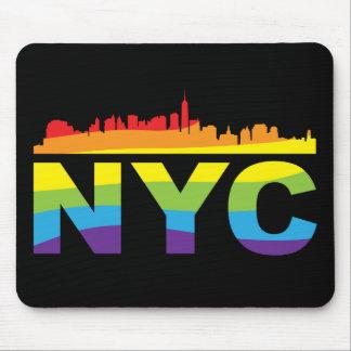 Mousepad Arco-íris do orgulho de NYC