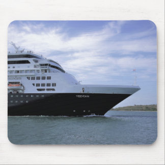 Mousepad Arco lustroso do navio de cruzeiros