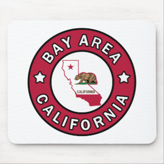 Mousepad Área Califórnia da baía