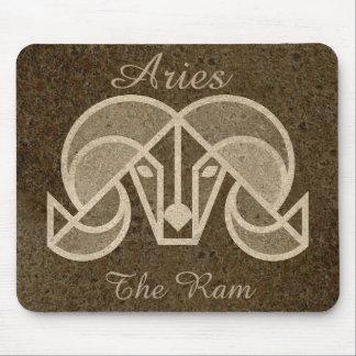 Mousepad Aries o tapete do rato da astrologia do horóscopo