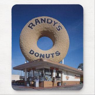 Mousepad Arquitetura de Califórnia das rosquinhas de Randy