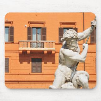 Mousepad Arquitetura italiana na praça Navona, Roma, Italia