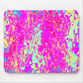 Mousepad Arte abstracta Marbleized brilhante das cores em