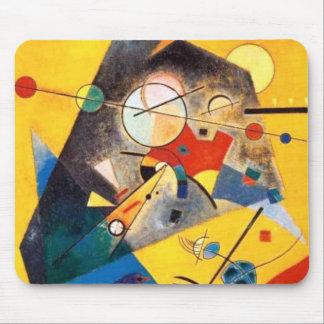Mousepad Arte abstracta quieta da harmonia de Kandinsky