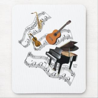 Mousepad Arte da música clássica