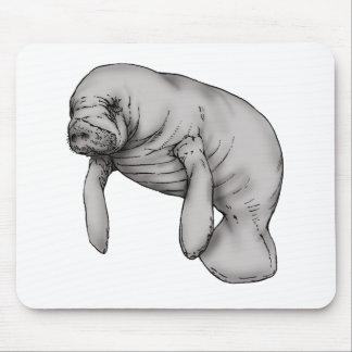 Mousepad arte do peixe-boi