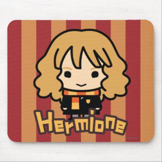 Mousepad Arte do personagem de desenho animado de Hermione