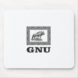 Mousepad Arte do poder do Gnu