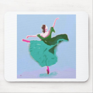 Mousepad Arte do vestido do balé