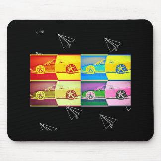 Mousepad arte dos momentos do carro