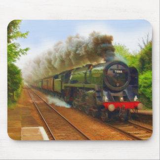Mousepad Arte Railway britânica IV do trem do vapor
