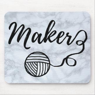 Mousepad Artesanatos do fabricante & textura de mármore do