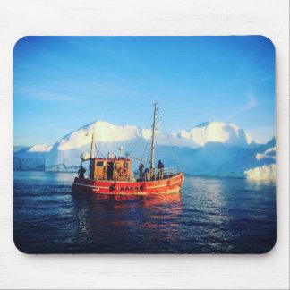 mousepad ártico da pesca