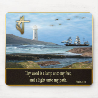 Mousepad Artigos cristãos do salmo 119