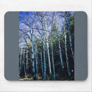 Mousepad Árvores de Aspen na queda