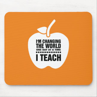 Mousepad As citações de ensino | Apple projetam o presente