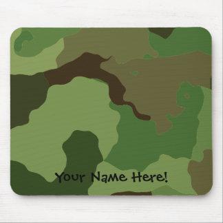 Mousepad As forças armadas tradicionais camuflam