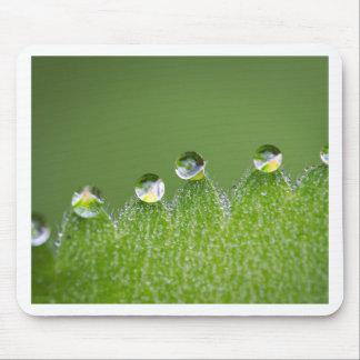 Mousepad As gotas da água da natureza conectam com o